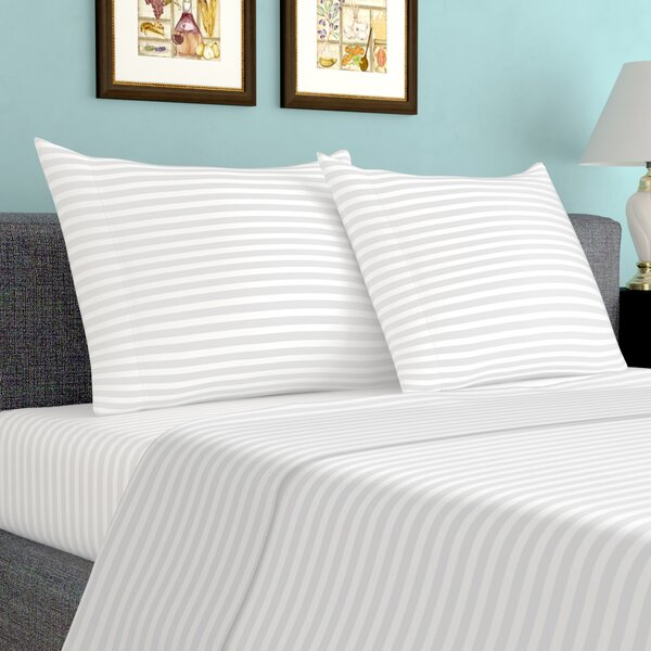 600 Thread Count 100% Cotton Sheet Set by Birch Lane™